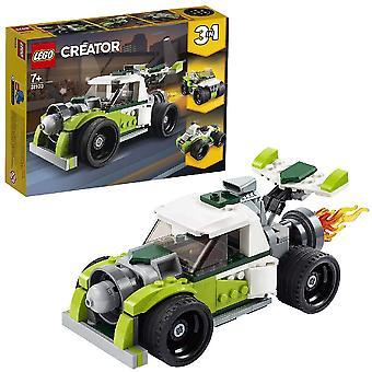 LEGO 31103 Creator 3-in-1 -rakettiauto, maastoajoauto, mönkijä