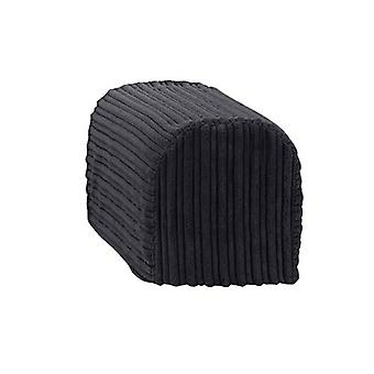 Grande dimensione nero Jumbo Cord Braccio Braccio Sedia Coprire Protettore Coprinte Slipcover Divano