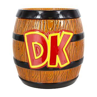 Donkey Kong Cookie Jar Super Mario Officiel Nintendo Novelty Biscuit Storage