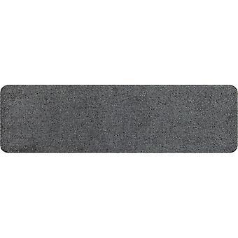 Salonloewe deurmat wasbare minimat antraciet 30 x 100 cm clean-running mat