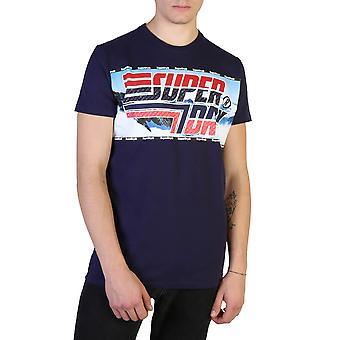 Superdry Original Männer ganzjahre T-Shirt - blaue Farbe 37625