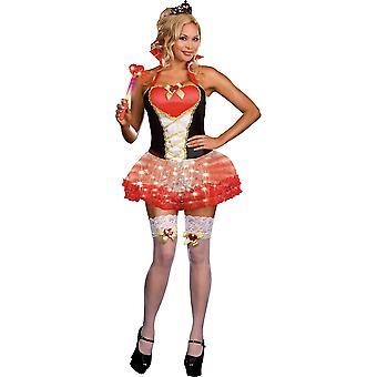 Women Sexy Queen of Heartbreak Costume