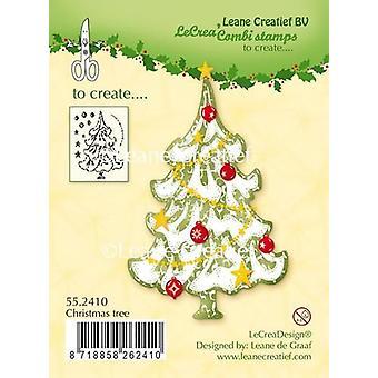 LeCrea - Klart stempel juletræ 55.2410