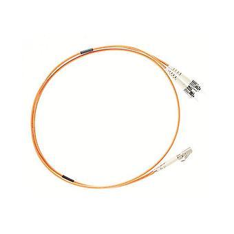 2M Lc St Om1 Multimode Fibre Optic Cable Orange