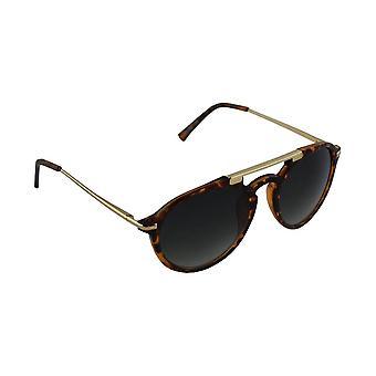 Sunglasses UV 400 oval brown Leopard Bruin1709_2