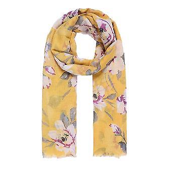 Jewelcity Womens/Ladies Wild Flower Print Sjaal