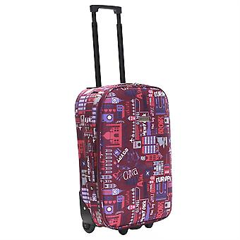 Slimbridge Algarve 55 cm Super lichtgewicht koffer, roze