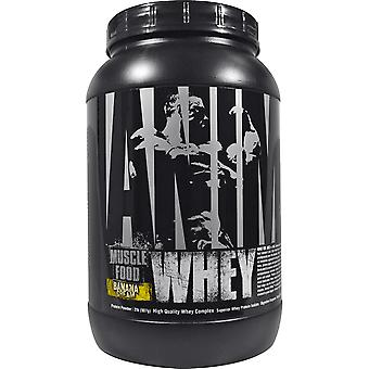 Universal Nutrition Animal Whey - About 27 Servings - Banana Cream