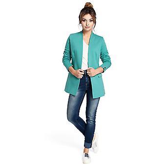 Green moe jackets & coats