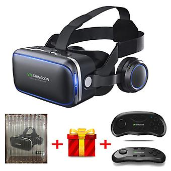 VR Shinecon 6.0 Virtual Reality 3D Glasses 120 ° With Controller