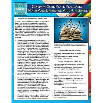 Common Core State Standards Math And Language Arts 4th Grade Speedy Study Guides by Publishing LLC & Speedy