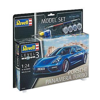 Revell 67034 1:24 Porsche Panamera Turbo Plastic Model Kit
