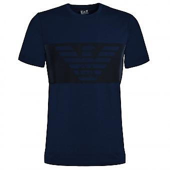 EA7 Emporio Armani Men's Navy Blue T-Shirt