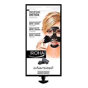 Rensende maske Detox kul sort Iroha
