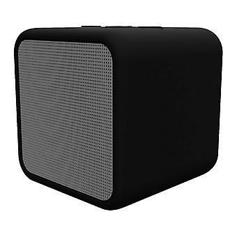 Trådløs Bluetooth-højttaler Kubic Box KSIX 300 mAh 5W sort