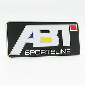 Black ABT Sportsline Badge Volkswagen VW Rear Boot Emblem 90mm x 40mm