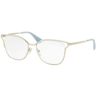 Prada VPR54U ZVN1O1 Pale Gold Glasses