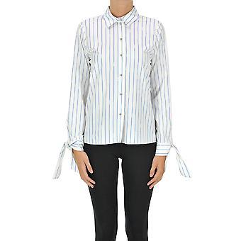Pinko Ezgl016466 Women's White Cotton Shirt