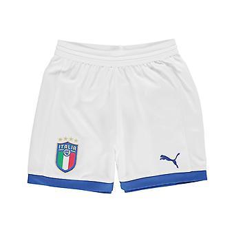 Puma Italy Away Shorts 2018 Junior