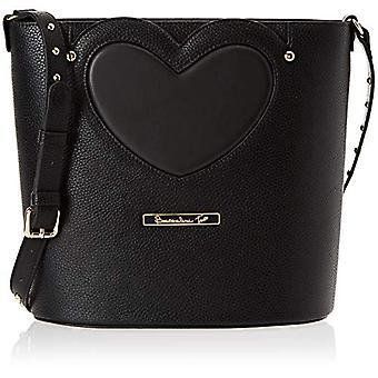 BRACCIALINS YOUR By Love Black Women's Bucket Bag 13x26x27 cm (W x H x L)