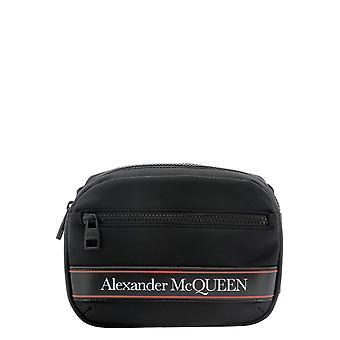 Alexander Mcqueen 625512hv2ab1083 Men's Black Nylon Pouch