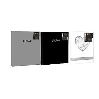 Photo Album Holds 200 Photos + Memos (3 colours available)