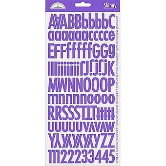 Doodlebug Design Lilla Skinny klistermærker