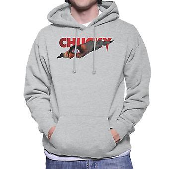Chucky Menacing Eye Men's Hooded Sweatshirt