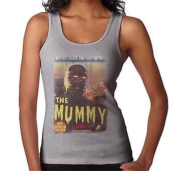 Hammer The Mummy 1959 Film Poster Women's Vest