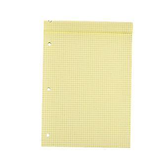 YANGFAN A4 Lose Blatt gestanzt Papier Tagebuch 3 Loch Notebook