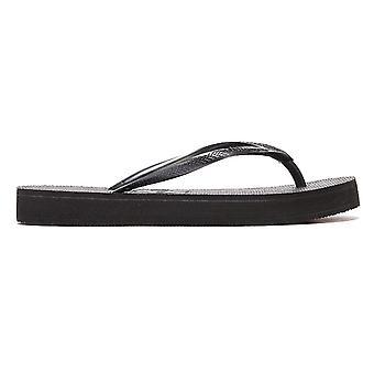 Havaianas Slim Flatform Womens Black Flip Flops