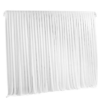 White Photography Background Stage Drapes For Wedding And Party Decors