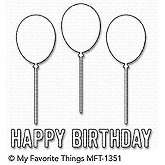 Meine Lieblings-Dinge alles Gute zum Geburtstag Ballon Trio Die-Namics