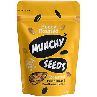 Munchy Seeds Honey Roasted Snack Pouches