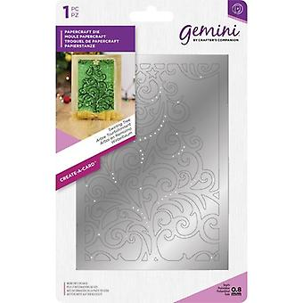 Géminis swirling Tree Create-a-Card Die