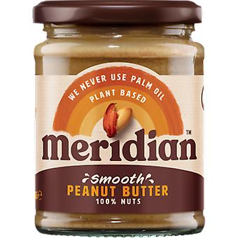 Meridian Foods Smooth peanut butter 6x280 gr