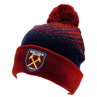 West Ham United FC Official Adults Unisex FD Ski Hat