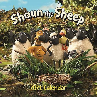 Shaun The Sheep Square Wall Calendar 2021