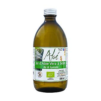 Organic pasteurized Aloe vera juice to drink - 500 ml 500 ml