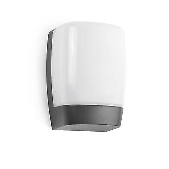 Faro Pol - LED Outdoor Wall Light White, Dark Grey IP54