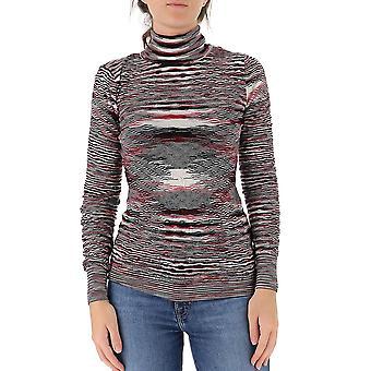Missoni Mdn00394bk00nrfm012 Women's Multicolor Wool Sweater