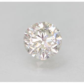 معتمد 1.00 قيراط G SI1 جولة رائعة المحسنة الطبيعية فضفاضة الماس 6.1mm
