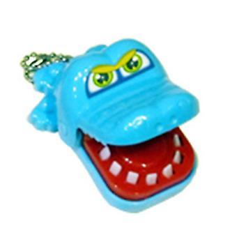 Ny kreativ liten størrelse krokodille munn tannlege bite finger spill morsomme gags leketøy for barn spille moro