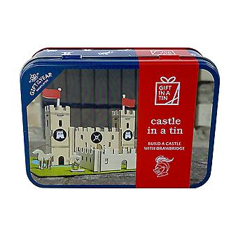 Castle In A Tin - Construction Kit - Luxury Gift Item
