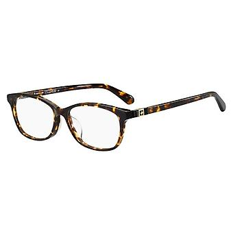 Kate Spade Carlisha/F 086 Dark Havana Glasses