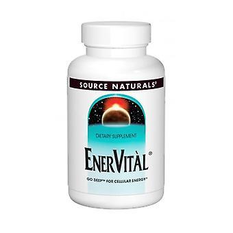 Source Naturals Enervital, 60 Tabs