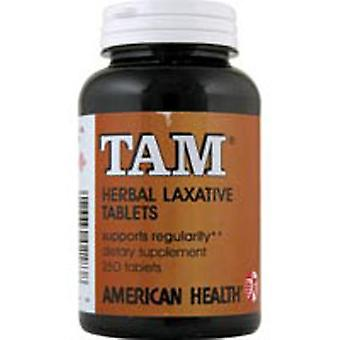 American Health Tam Herbal Laxatif, 250 onglets