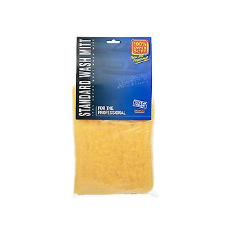 2 X professional detailing valeters car wash mitt, trade quality synthetic wool