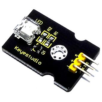 Keyestudio 8mm Red LED Module