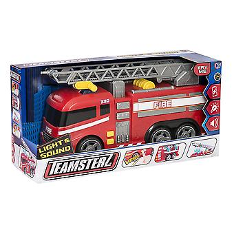 Teamsterz 1416390 Light And Sound Fire Engine Toy